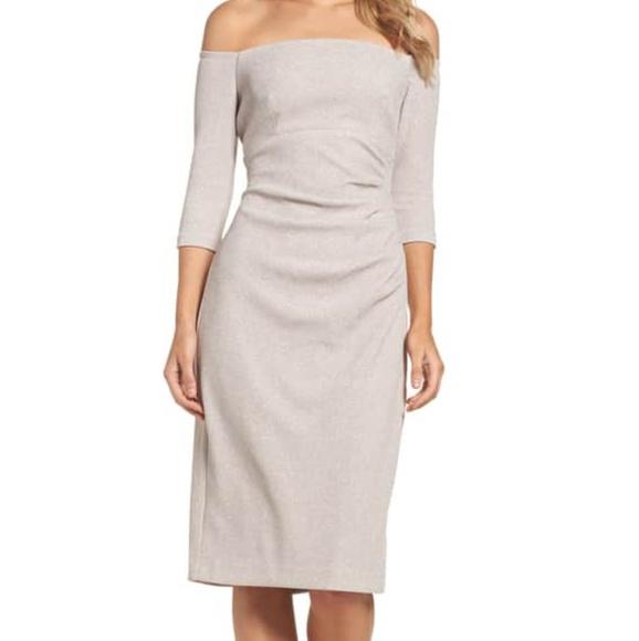 dd82494ce99c Eliza J Dresses & Skirts - Eliza J off Shoulder sheath dress ...